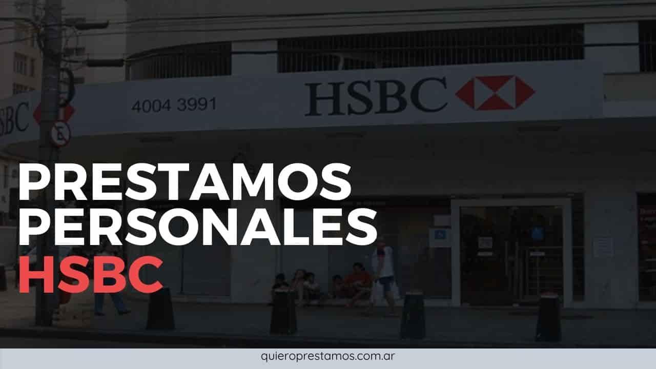 como sacar prestamos personales del banco hsbc