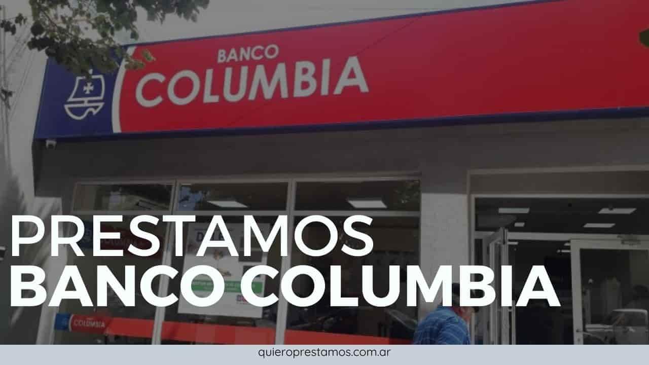 banco columbia prestamos personales